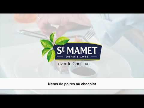 Nem poire chocolat