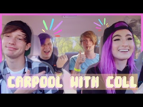 CARPOOL KARAOKE WITH COLL & A BAND?!