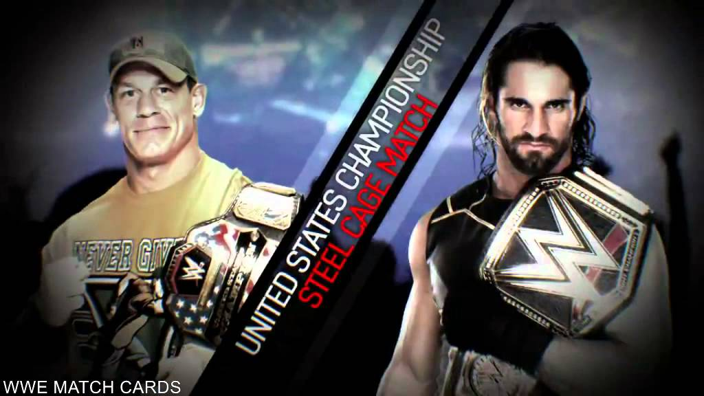 Wwe Live From Madison Square Garden Match Card John Cena Vs Seth Rollins Youtube