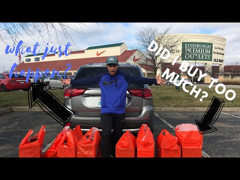 Nike Factory Store Outlet Vlog Sneaker Shopping Spree Shop Until You Drop (PINOY SNEAKERHEAD)