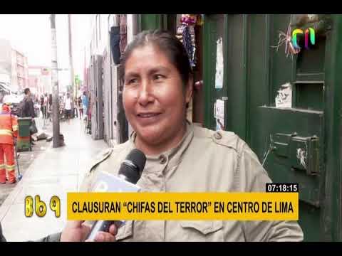 'Chifas Del Terror' Fueron Clausurados En El Cercado De Lima