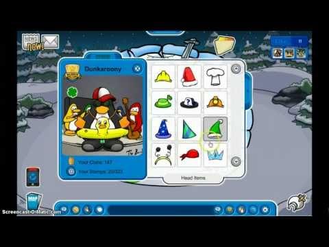 Free Club Penguin Rare Accounts - November 2012