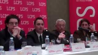 فيديو 2: حلقة عرض ونقاش مع الوزير زياد بارود حول مشروع قانون اللامركزية الإدارية