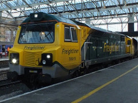 **NEWish** 70015 | Carlisle Citadel station | 4s41 Fiddlers Ferry to Hunterston