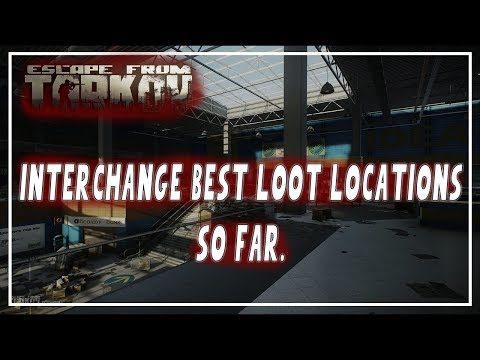 Best Interchange Rare Loot Spawns So Far | Escape From