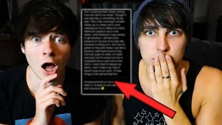 Reacting to Our Fans Scariest Haunted Experiences | Colby Brock