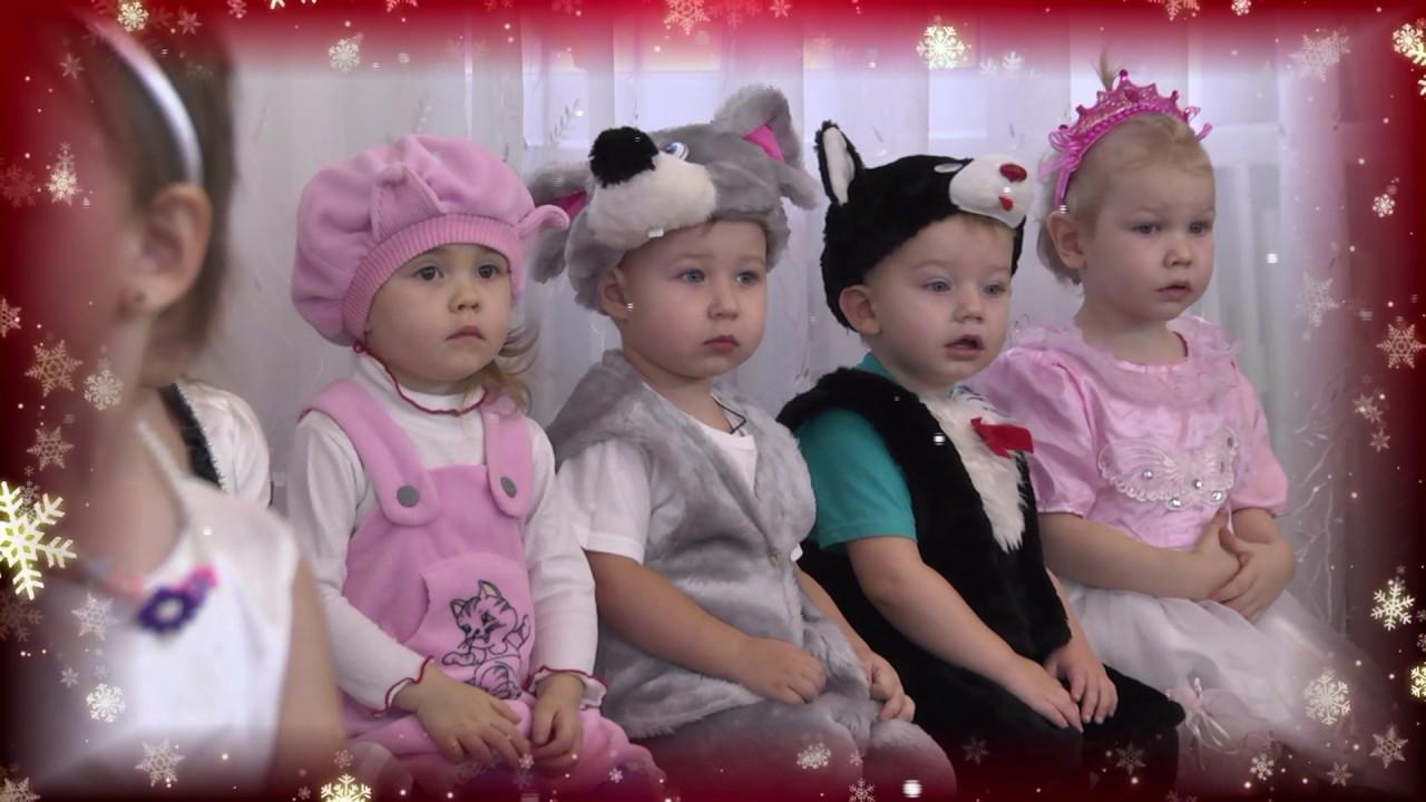 Новогодний утренник в детском саду № 122
