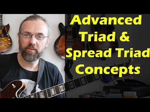 Advanced Jazz Guitar: Triads and Spread Triads on Out Of Nowhere - Modern Jazz Guitar Licks