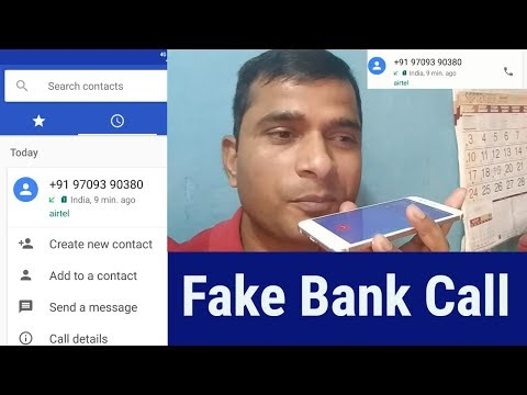 Fake Call From Bank, I Gave Motivational Speech To Caller, Live Video Must Watch