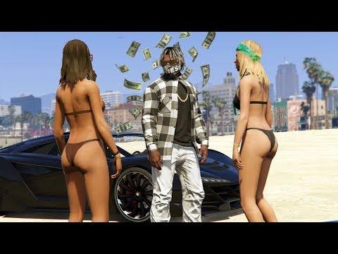 WE MADE $2,000,000! RAPPER SPENDING SPREE!   GTA 5 Rapper's Life #6