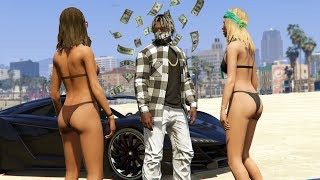 WE MADE $2,000,000! RAPPER SPENDING SPREE! | GTA 5 Rapper
