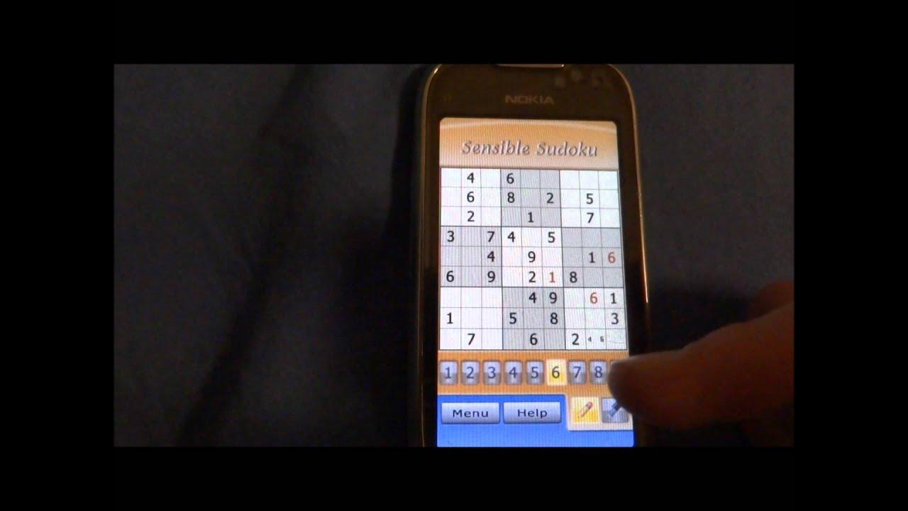 sudoku symbian