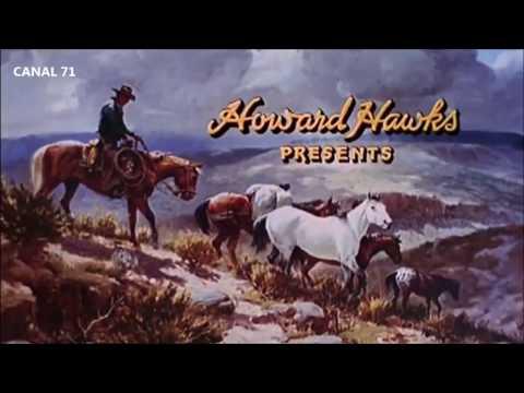 Intro pelicula EL DORADO - 1966 - Howard Hawks