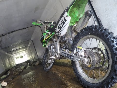 Dirt Bike Adventure | Exploring An UnderGround Tunnel