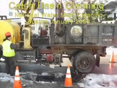 Catch Basin Cleaning National Water Main Cleaning Co Youtube