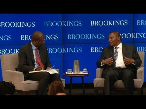A conversation with Central African Republic President Faustin-Archange Touadéra