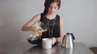How to Make Chemex Pour Over Coffee