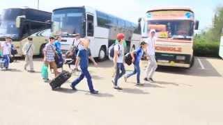 700 детей из Чеченской республики перевезли по «единому билету» на отдых в Евпаторию(30 мая 2014 года АНО «Единая транспортная дирекция» доставила первую группу в количестве 700 детей из Чеченской..., 2014-05-31T08:26:58.000Z)