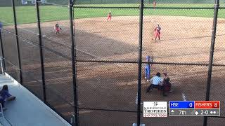 Fishers vs Hamilton Southeastern |Championship | Softball Sectionals #8 - GM 5| HCTV Sports