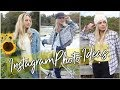 Instagram Photo Ideas for Fall / Instagram photo shoot / Instagram Picture Ideas!