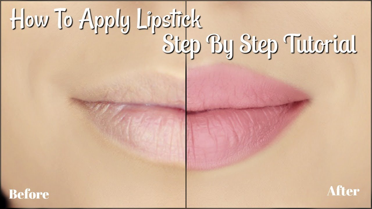 How To Apply Lipstick Tutorial | 5 Easy Steps
