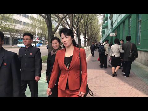 Pyongyang's downtown
