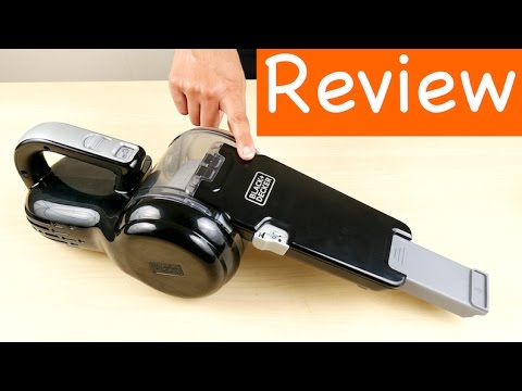 Black Decker Bdh2000pl >> Black+Decker BDH2000PL MAX Lithium Pivot Vacuum Review - YouTube