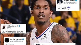 Lou Will Drops 33 And 10 To save the Los Angeles Clippers From Going Home 🏡😳