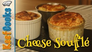 Easy Cheese Souffle Recipe #KeefCooks