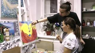 Уроки живописи в художественной студии