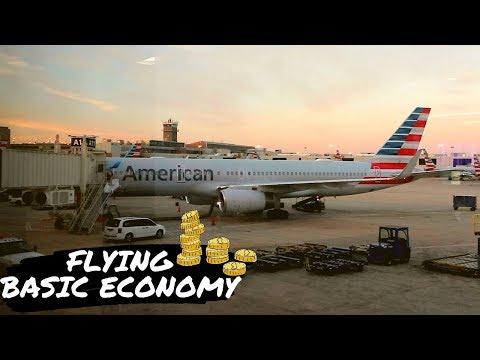 Flying American Airlines Basic Economy From Philly To New Orleans!