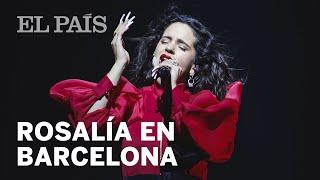 ROSALÍA triunfa en BARCELONA y llena EL PALAU SANT JORDI