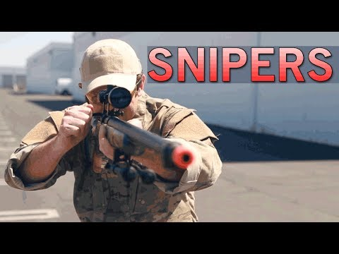SNIPERS! Great Sniper Rifle Options for Starting your Airsoft Career | Airsoft GI