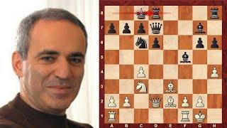Garry Kasparov's cute miniature against Jonathon Speelman