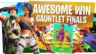 AWESOME WIN in the Gauntlet Duos Finals - Fortnite Gauntlet