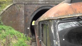 47769 Thrashes out of the tunnel at the Great Central Railway Nottingham