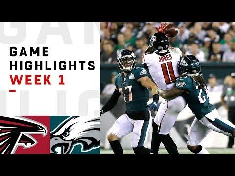 Falcons vs. Eagles Week 1 Highlights | NFL 2018