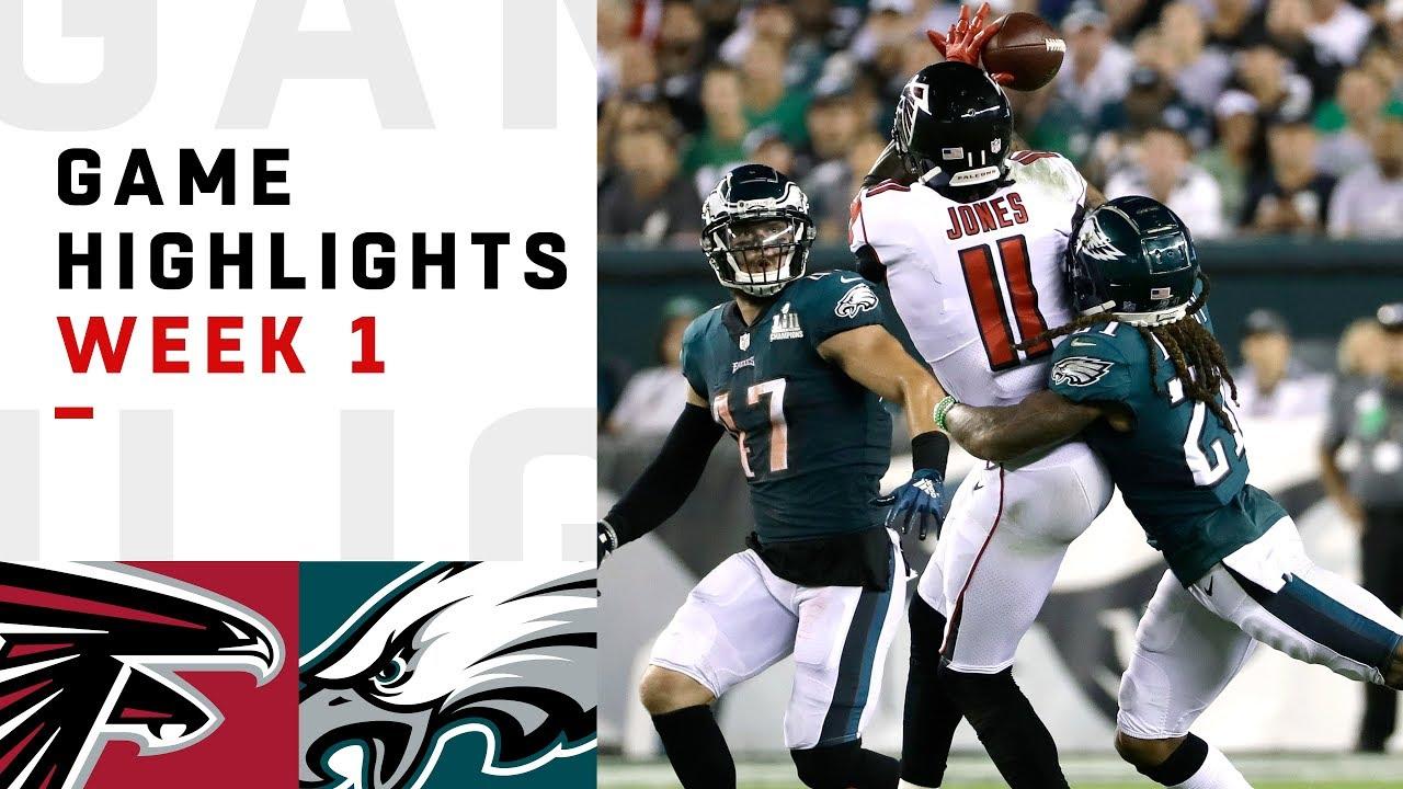 Falcons vs. Eagles Week 1 Highlights  8d1f319ea