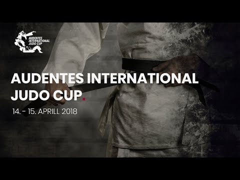 AUDENTES INTERNATIONAL JUDO CUP 2018 Day 1 (14.04) - Tatami 2