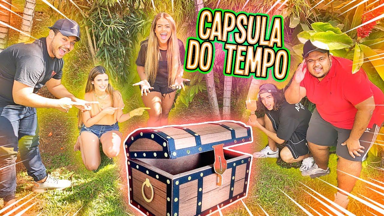 ENTERRAMOS UMA CAPSULA DO TEMPO !!!