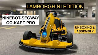 Xiaomi Ninebot GoKart Pro Lamborghini Edition Review Series EP1-Unboxing UK/EU First Test