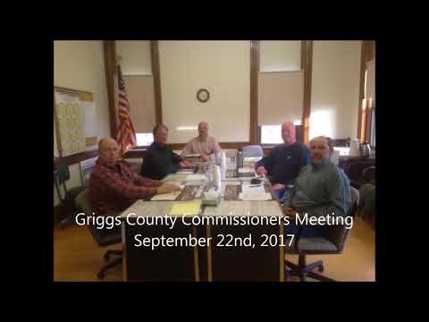 Commissioners Meeting 22nd September 2017