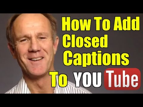 How To Add Closed Captions To Your YouTube Video from YouTube · Duration:  3 minutes 42 seconds