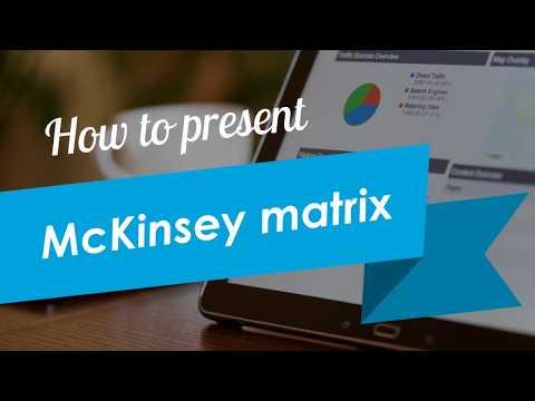 How To Present McKinsey Matrix In A PowerPoint