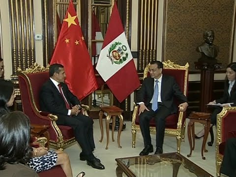 China, Peru to Advance Cooperation in Industrial Capacity, Equipment Manufacturing