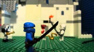Лего Ниндзяго - Встреча с синим ниндзя