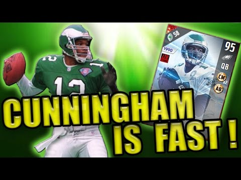 WHAT A RUN! CUNNINGHAM IS FAST! (30K WAGER) - MADDEN NFL 17 ULTIMATE TEAM