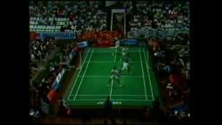 "Final Bulutangkis Sudirman Cup Ganda Putra: ""Park/Kim VS Eddy/Gunawan"" - Set 3 (TVRI 29 Mei 1989)"