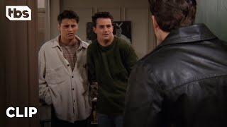 Friends: Chandler Kicks Out His Annoying Roommate Eddie (Season 2 Clip)   TBS