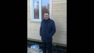 видео Д-63 Каркасный дом 8х8 м с мансардой